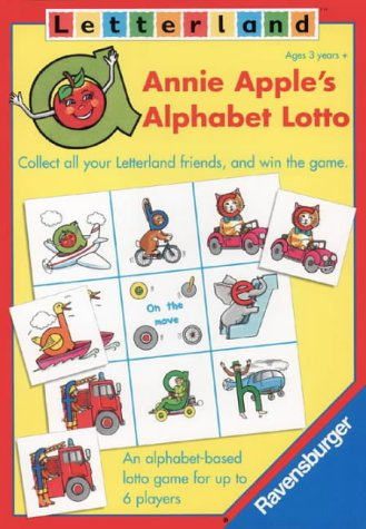 9780003034011: Letterland - Annie Apple's Alphabet Lotto