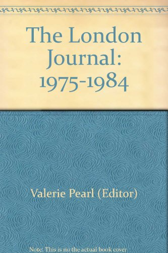 The London Journal. Vol.20 No.2 (1995). A Review of Metropolitan Society Past and Present.,: ...