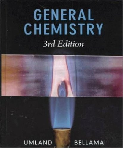 9780003069709: General Chemistry (3rd Edition) Text Only