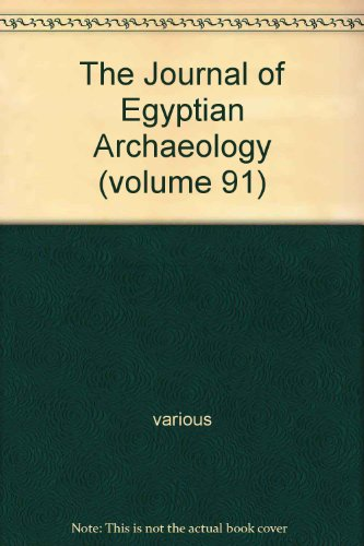 The Journal of Egyptian Archaeology : Volume 90, Plus Review Supplement