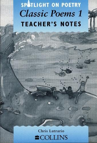 9780003103489: Spotlight on Poetry - Classic Poems 1 Teacher's Notes: Classic Poems Stage 1