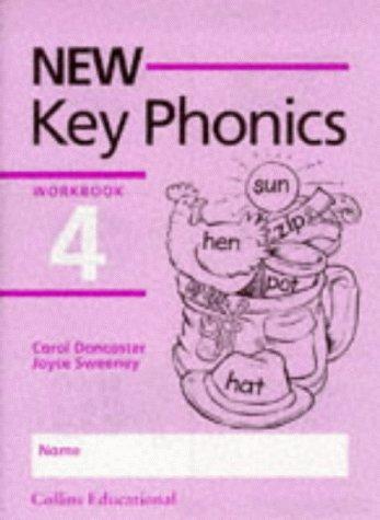 9780003123050: New Key Phonics - Workbook 4