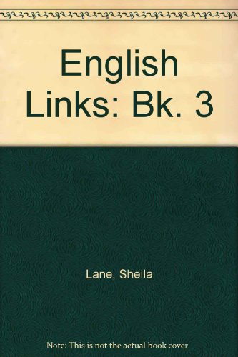 9780003125306: English Links: Bk. 3