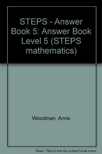 9780003125795: STEPS Mathematics: Answer Book Level 5