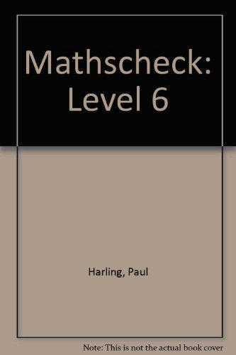 9780003125887: Mathscheck: Level 6