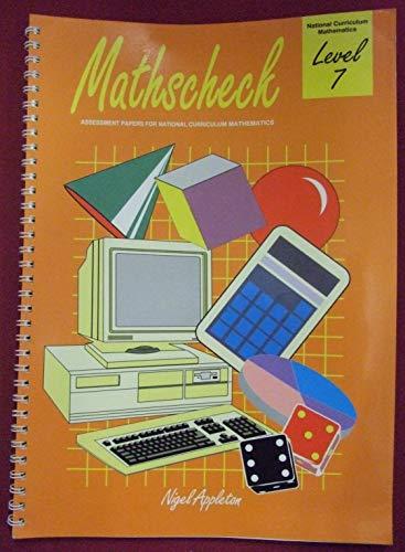 9780003125894: Maths Check: Level 7