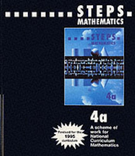 9780003126648: STEPS - Teacher's Handbook 4a: Resource Masters Level 4B (STEPS mathematics)