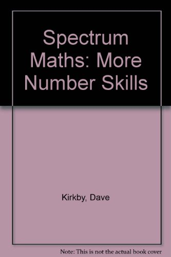 9780003126884: Spectrum Maths (28) ? More Number Skills Copymasters