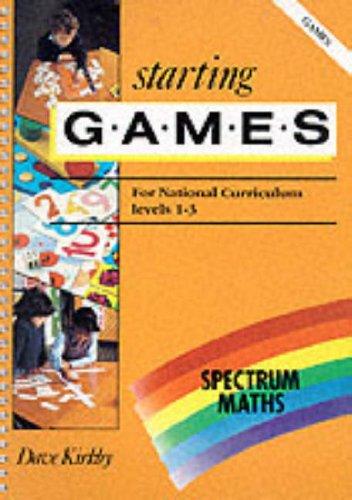 9780003126907: Spectrum Maths (24) - Starting Games Copymasters