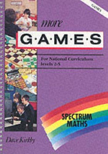 9780003126914: Spectrum Maths: More Games Level 2-5