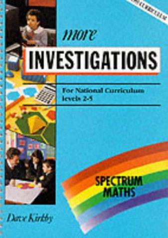 9780003126945: Spectrum Maths: More Investigations Level 2-5