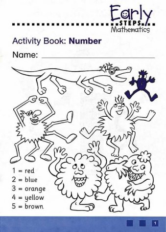 9780003127140: Early STEPS Mathematics: Activity Book 1