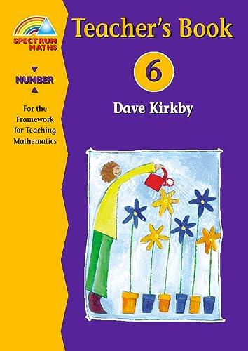 9780003127508: New Spectrum Maths: Number, Year 6 - Teacher's Guide