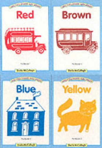 9780003131123: One, Two, Three and Away: Pre-readers 1-4 - Red, Yellow, Blue, Brown