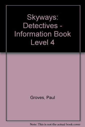 9780003134100: Skyways: Detectives - Information Book Level 4