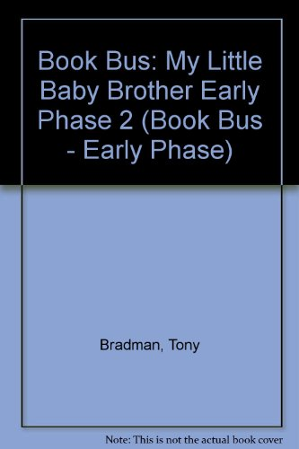 9780003135886: Book Bus: My Little Baby Brother Early Phase 2 (Book Bus - Early Phase)