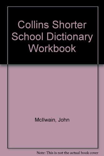 9780003141696: Collins Shorter School Dictionary: Workbook