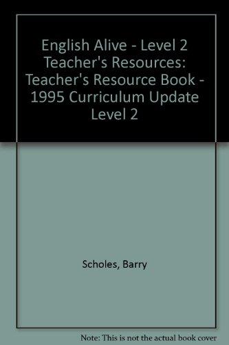 9780003143928: English Alive - Level 2 Teacher's Resources: Teacher's Resource Book - 1995 Curriculum Update Level 2