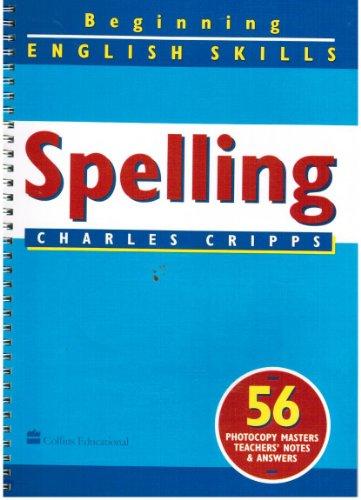 9780003144109: Spelling (Beginning English Skills)