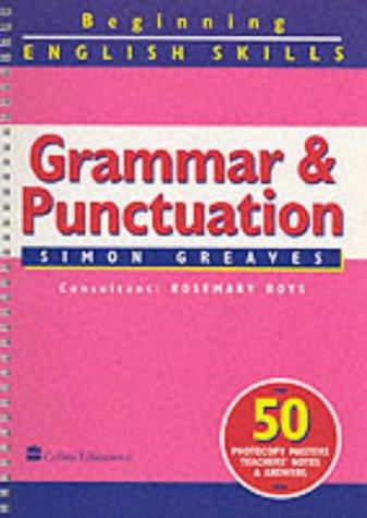 9780003144116: Grammar and Punctuation (Beginning English Skills)