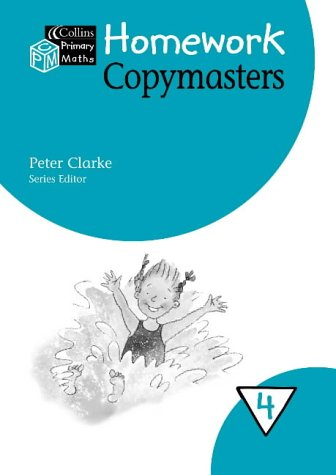 9780003152852: Collins Primary Maths - Year 4 Homework Copymasters