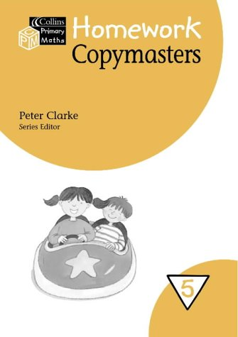 9780003152937: Collins Primary Maths - Year 5 Homework Copymasters (Collis primary maths)