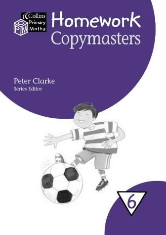 9780003153019: Collins Primary Maths ? Year 6 Homework Copymasters (Collis primary maths)