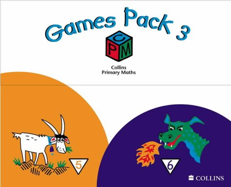 9780003153071: Collins Primary Maths - Games Pack 3: Year 5 and Year 6