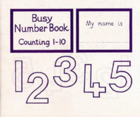 9780003153187: Busy Number Books - Counting 1 to 10: Counting 1-10