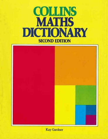 9780003153415: Collins Maths Dictionary