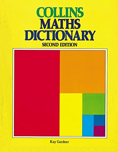 9780003153415: Collins Mathematics Dictionary