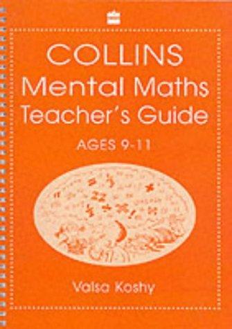 9780003153804: Mental Mathematics: Teacher's Notes Level 5-6 (Collins mental maths)