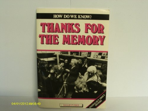 9780003154047: Thanks for the Memory (How do we know?)
