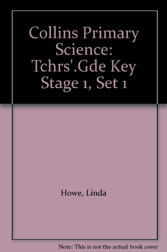 9780003175257: Collins Primary Science: Tchrs'.Gde Key Stage 1, Set 1
