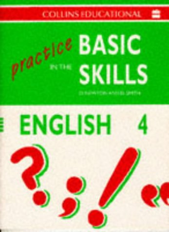 9780003181036: Practice in the Basic Skills (4) - English Book 4: English Bk.4