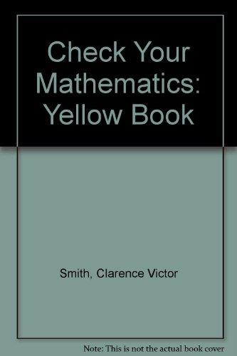 9780003186222: Check Your Mathematics: Yellow Book