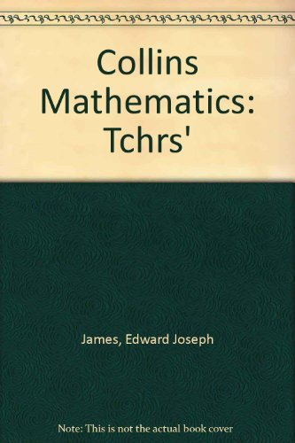 9780003187236: Collins Mathematics: Tchrs'