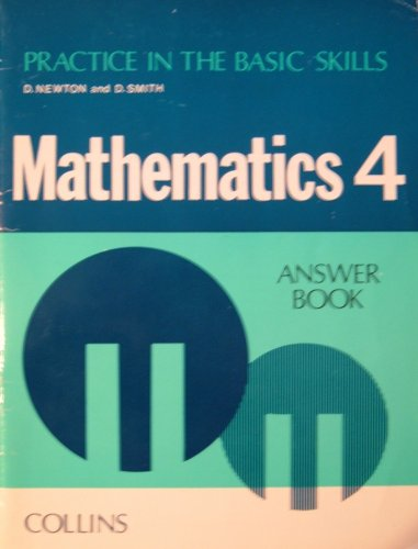 9780003187724: Practice in the Basic Skills: Maths Bk.4