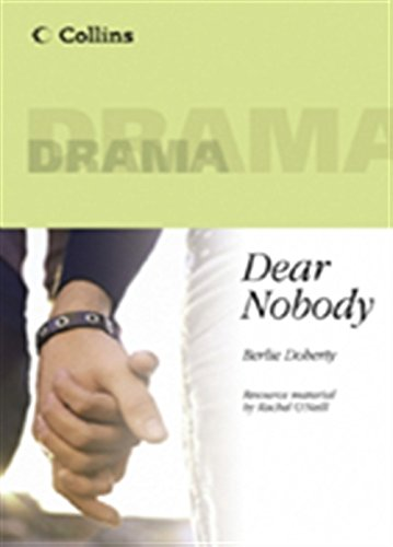 9780003200041: Collins Drama - Dear Nobody: Play