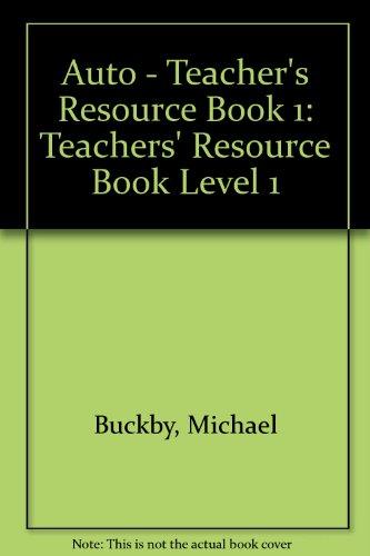 9780003200539: Auto: Teachers' Resource Book Level 1