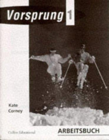 9780003201369: Vorsprung 1: Workbook