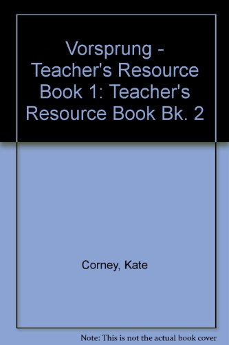 9780003201468: Vorsprung: Teacher's Resource Book Bk. 2