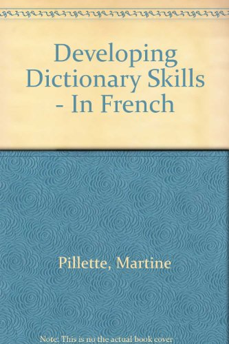 9780003201949: Developing Dictionary Skills - In French