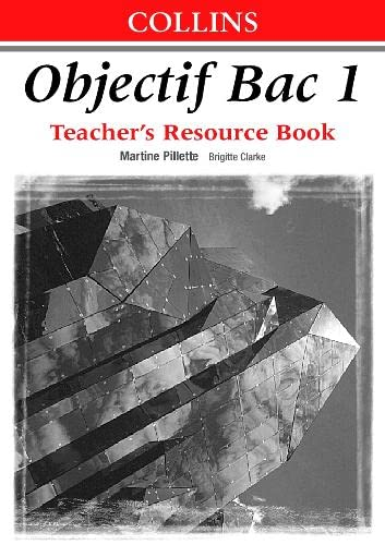 9780003202540: Objectif Bac: Teacher's Book Level 1