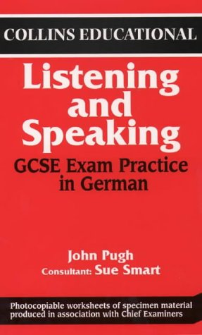9780003202601: General Certificate of Secondary Education Examination Practice in German: Listening and Speaking