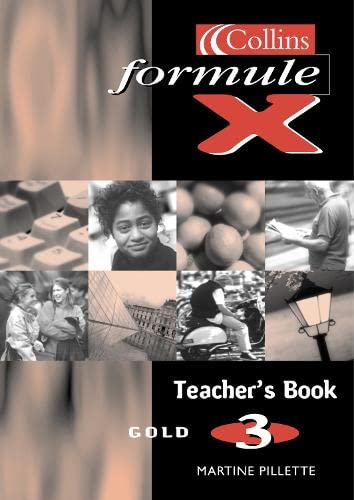 9780003202847: Formule X: Teacher's Book Level 3
