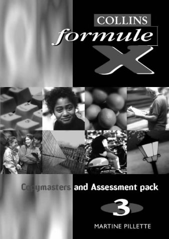 9780003202861: Formule X: Copymasters and Assessment Pack Level 3
