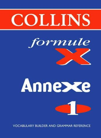 9780003202885: Formule X: Pocket Vocabulary Book Annexe Level 1