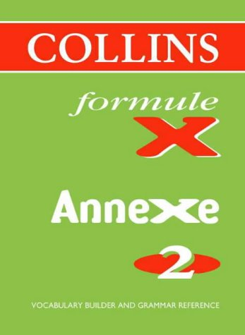 9780003202892: Formule X: Pocket Vocabulary Book Annexe level 2