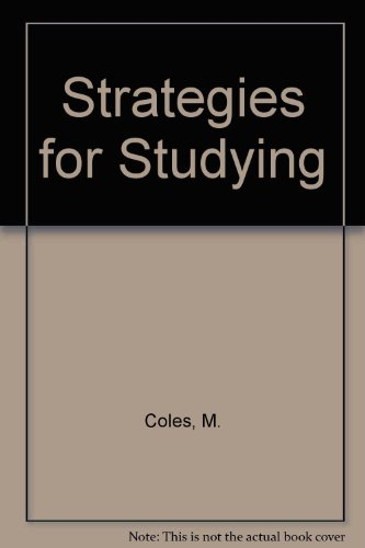 9780003220315: Strategies for Studying
